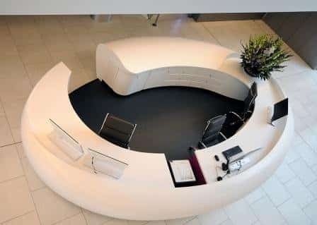 NAPP Thermoformed Reception Desk